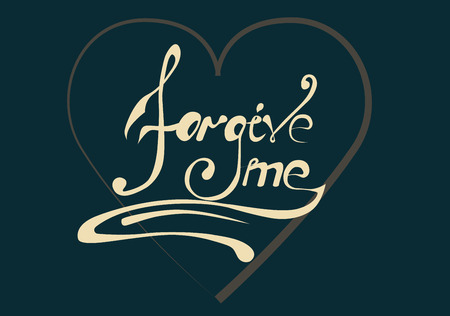 sign forgive me