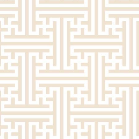 Vintage Japanese key pattern inspired seamless digital print. Illusztráció