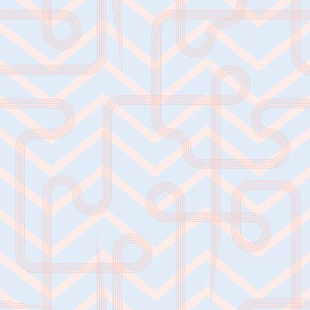 Subtle geometric all-over print for fashion, interior textile, backgrounds & more!