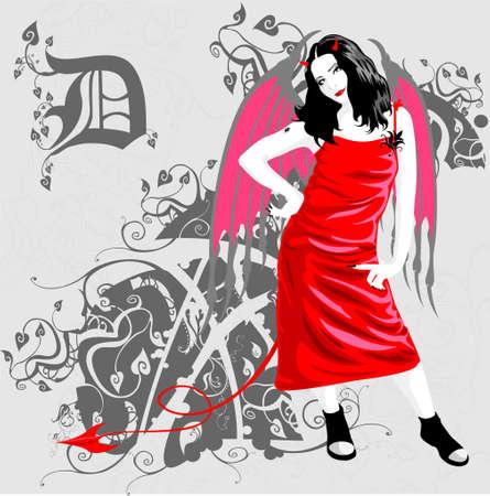 diabeł Ilustracja