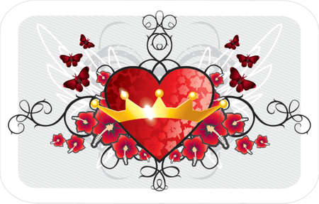 Valentine background Stock Vector - 730829
