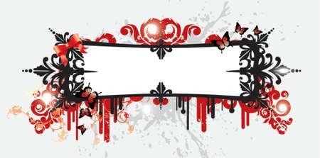 Seksowny ramki Ilustracja