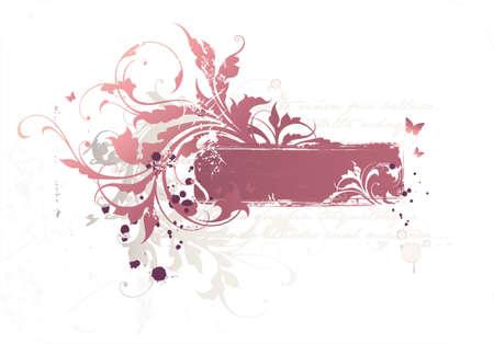 wektor kwiatów ramki