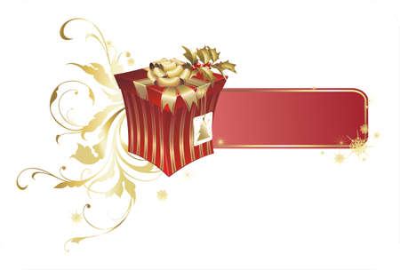 christmas present box: christmas present box
