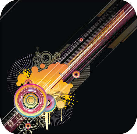 Abstract industrial background Vector