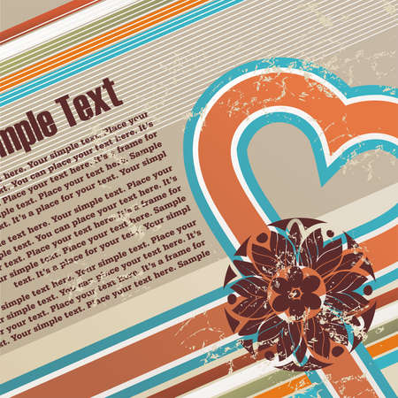Valentines grunge tle z wolnego miejsca na tekst