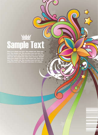 Modern colored background with free space for your text Stock Vector - 4919239