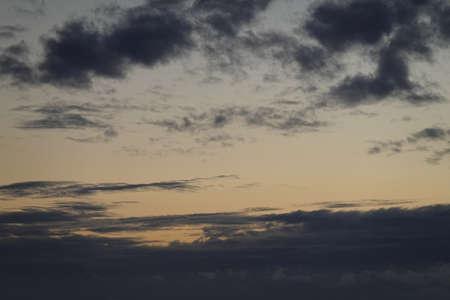 a blue sky full of beautiful clouds.