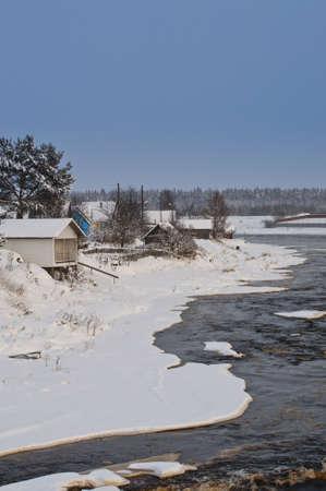 residental: Shuya river and Besovec village