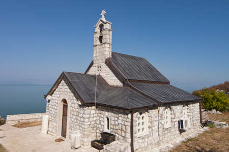 Beska church on the island of Skadar lake Stock Photo - 17253880