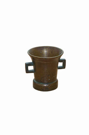 herbage: Copper mortar for herbage and medicine pounding
