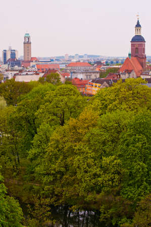 spandau: Church of St  Nicholas  Spandau  Berlin  general view to district