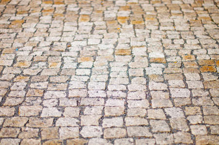 A old stone floor Background  Berlin Street  photo