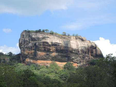Plateau of Sigiriya, Sri Lanka photo