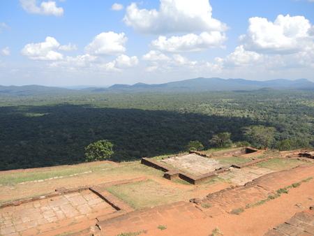 Plateau of Sigiriya, Sri-Lanka photo