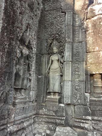 apsara: Goddess Apsara in Bayon temple