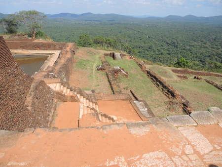 The ancient palace of SIGIRIYA photo