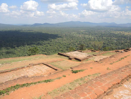 The view from the top of the Sigiriya rock fortress photo