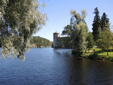 Olavinlinna Castle. South Savo, Finland