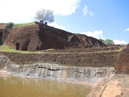 sigiriya: Plateau of Sigiriya, Sri-Lanka