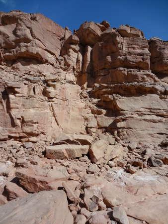 sinai: Colored canyon in Egypt, Sinai