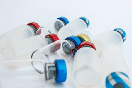 vial is cover a wide range of colors Stock Photo - 18347377