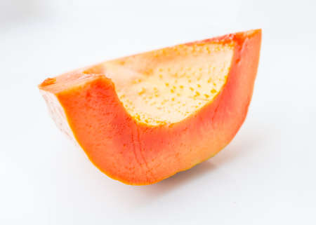 Ripe papaya peel it and eat Stock Photo - 18691537