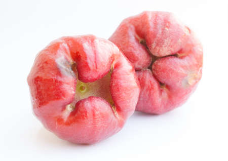 Colorful rose apple to eat photo