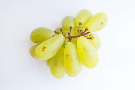 chafe: Juicy green grapes to eat