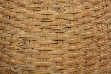Wooden basket weave  beautiful pattern Stock Photo - 19191178