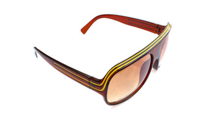 Sunglasses with stripes on the leg Stock Photo - 19162413