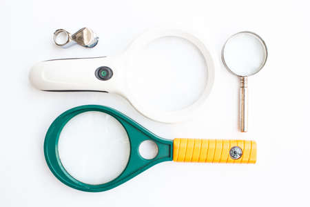 Magnifying glass size for look