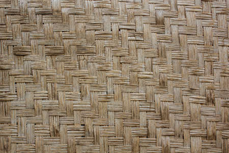 Wood weave a background look vintage Stock Photo