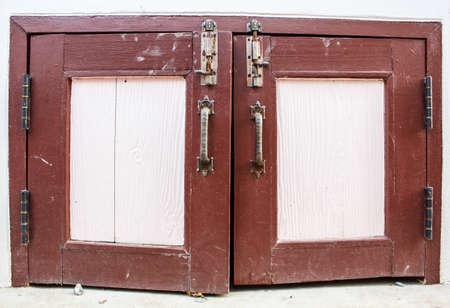 Small door for storage