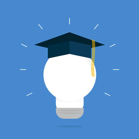 alumni: Smart Graduation Light Bulb