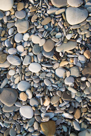 Rocks on the sea coast, top view. Background, texture.