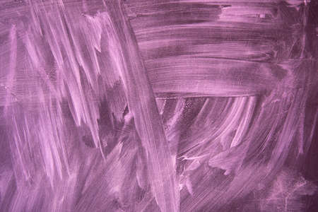 The texture of the chalkboard. Blue shades, abstract drawing. Background. Pink
