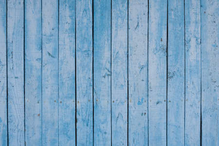 Boards of delicate blue shades. The texture of a wooden fence. Background, texture Stok Fotoğraf