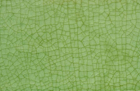 Green glazed ceramic tile, Texture of green glass tile, Glazed tile texture background Banco de Imagens