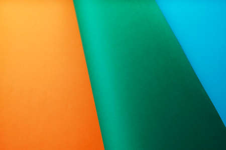 Colorful paper texture background, Colorful gradients layered paper background