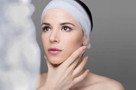 gezicht: Beauty Gezicht Stockfoto