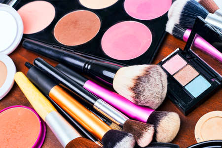 Makeup tools Stockfoto