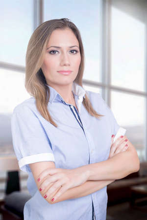 successful woman: Business successful woman indoors