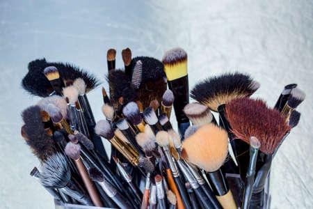 maquillaje de ojos: Pinceles de maquillaje