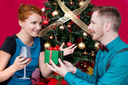pelirrojas: Un par de pelirrojos en la Navidad