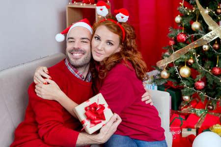 christmas couples: Christmas couple