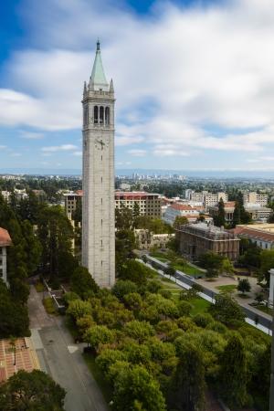 UC Berkeley Campanile Esplanade Stock Photo - 21557373