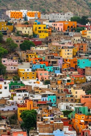 Kleurrijke Huizen van Guanajuato