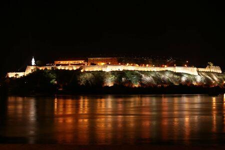 Petrovaradin fortress Stock Photo