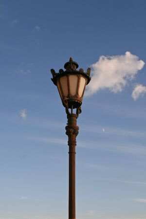 Lantern and the cloud